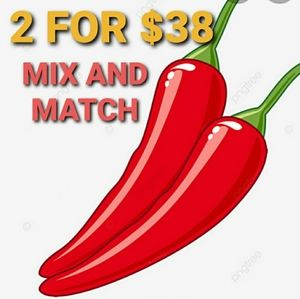 🌶 RED HOT CHILI SALE 2 FOR $38 🌶 Mix & Ma